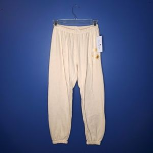 Spiritual Gangster Pants & Jumpsuits - Spiritual Gangster Stars Perfect Sweatpant Sand